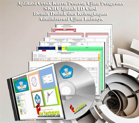 aplikasi membuat id card gratis download aplikasi cetak kartu peserta ujian pengawas skhu
