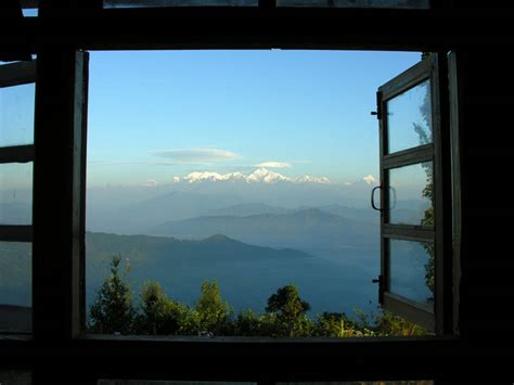 window with a view window view kanchanjanga a photo from west bengal east