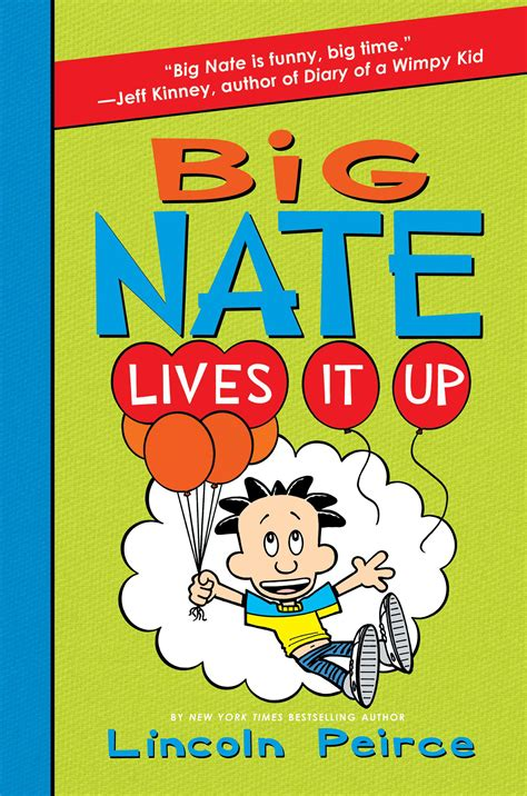 live bid big nate lives it up by lincoln peirce on ibooks