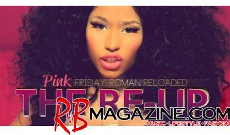R Up Tracklisting R Tv by Tracklist Nicki Minaj Quot The Re Up Quot Pink Friday