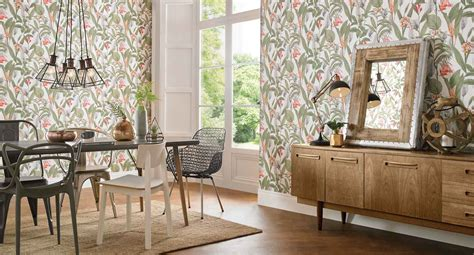 wallpaper ideas for dining room dining room wallpaper dining room feature wall ideas
