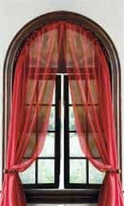 how to make arch window rods ehow curved window curtain rod 7 superb arched window curtains estateregional