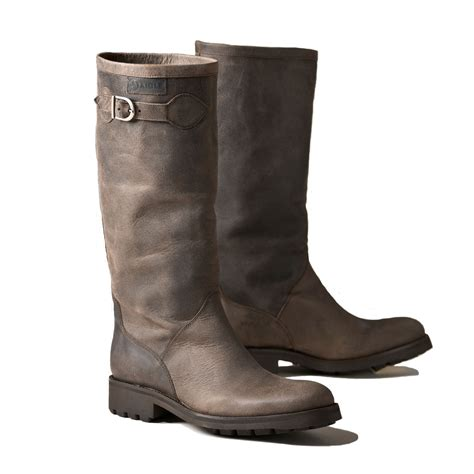 aigle chantebelle suede leather boot s