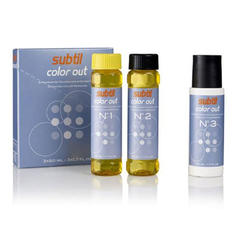 skidac boje za kosu subtil color out skidač boje 3 215 50 ml topstil lms