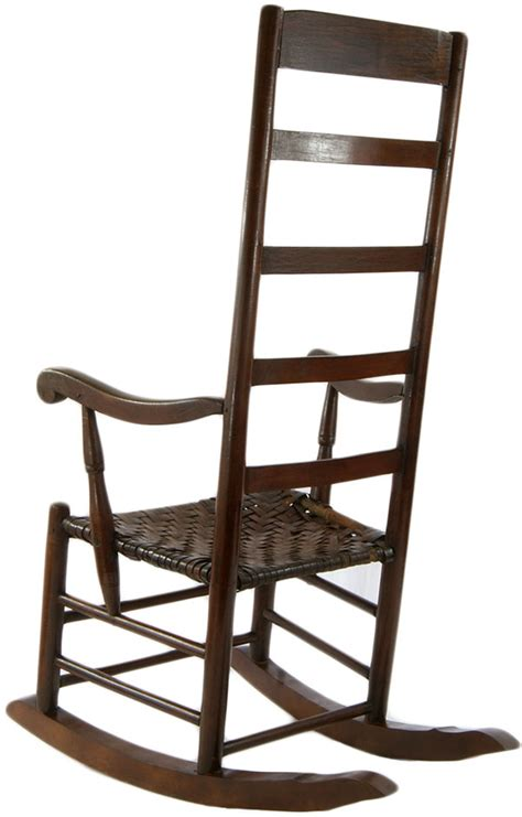 Antique Pilgrim Slat Back Rocking Chair 1700 Omero Home
