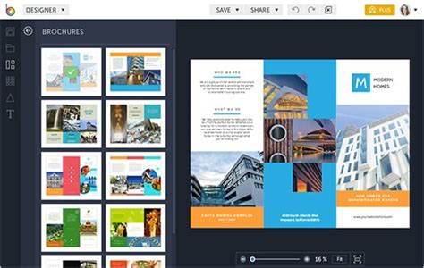 Top 8 Brochure Makers To Make Your Brochure Customer Oriented Electronic Brochure Templates