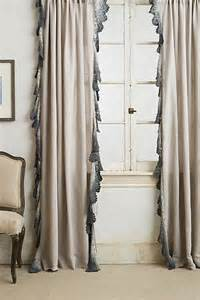 Lace Trim Curtains Ombre Lace Curtain I Anthropologie