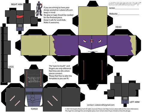 Digivice Papercraft - belzeemon cubee by requestmaster on deviantart