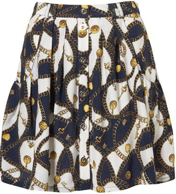 Dita Teese Cbell Andre Talley Venus Williams At The 7th On Sale Gala by Topshop Chain Print Skirt 8 Stunning Statement Skirts