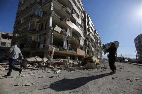 Israel Offers Arch Enemy Iran Aid After Earthquake Kills ... Iraq 2017