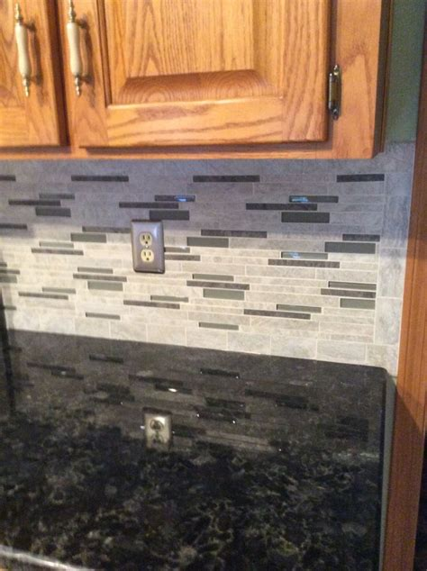 kitchen counter backsplash backsplash floriana from lowes volga blue
