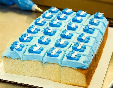 Baby Shower Square Cakes by Baby Bootie Cake Squares Cake 018 Baby Shower And