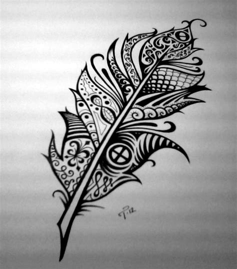 unique ink tattoo custom ink drawing black white commissioned artwork