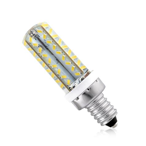 Led E12 Light Bulb Highlight Bulbs E12 Led L 3104smd 58 64 72 Leds Ac 220v Light Warm Cool White Ebay