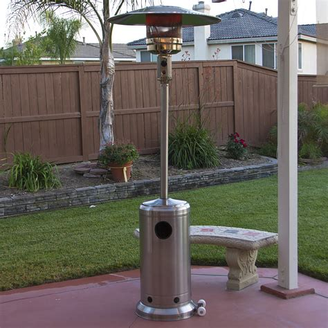 patio heater bcp design pit outdoor home patio gas firepit
