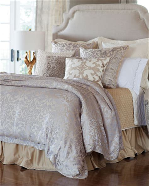 silver coverlet lili alessandra chagne silver jackie bedding