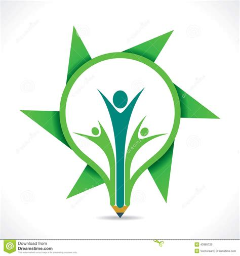 design kaos go green go green design cartoon vector cartoondealer com 58824981