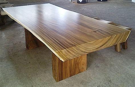 Meja Belajar Lipat Kayu Solid meja kayu solid jepara jati furniture