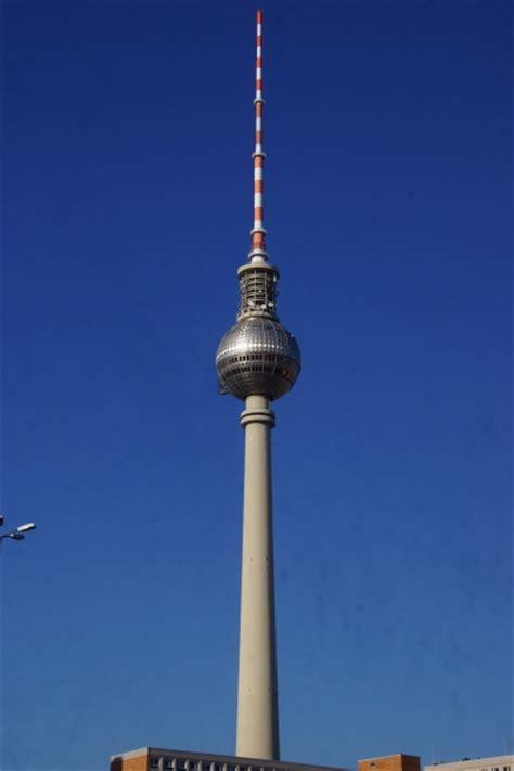 berlin television tower berlin mitte  structurae