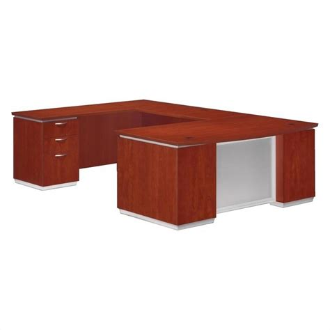 Assembled Office Desks Flexsteel Pimlico U Shaped Executive Desk Assembled 7020 58b