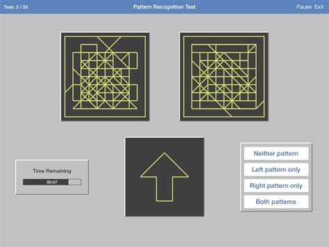 pattern recognition tests online free skytest 174 trainingssoftware f 252 r dlr test lufthansa
