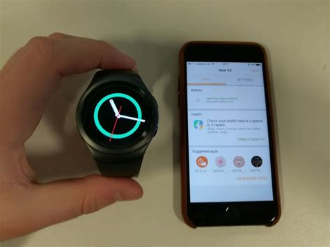 A Samsung Smartwatch How To Set Up A Samsung Gear Smartwatch On Iphone Macworld Uk