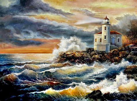 imagenes surrealistas de paisajes cuadros modernos pinturas y dibujos paisajes marinos con