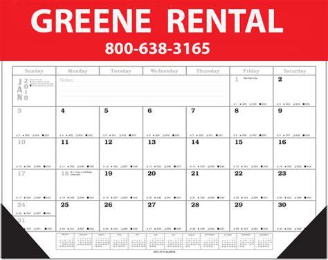 large desk calendar huge monthly  affordable  corners calendar company