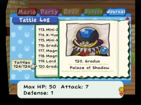 Paper Mario The Thousand Year Door Recipes by Paper Mario The Thousand Year Door All Tattles Badges And Recipes