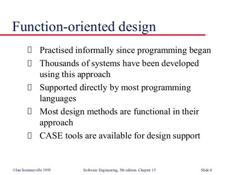 design function meaning function oriented design