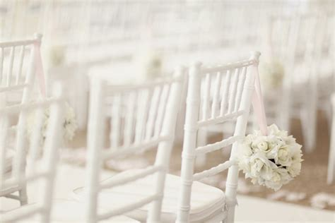 White Wedding Chairs by Stunning All White Wedding Ideas Bridalguide