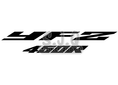 Yamaha Yfz 450 Stickers