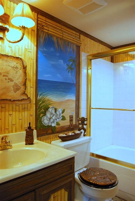 hawaiian style bathroom 38 best hawaiian decor images on pinterest bathrooms