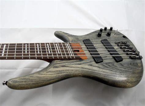 fanned fret 6 string bass sold ibanez 2015 bass workshop srff806 fanned fret 6