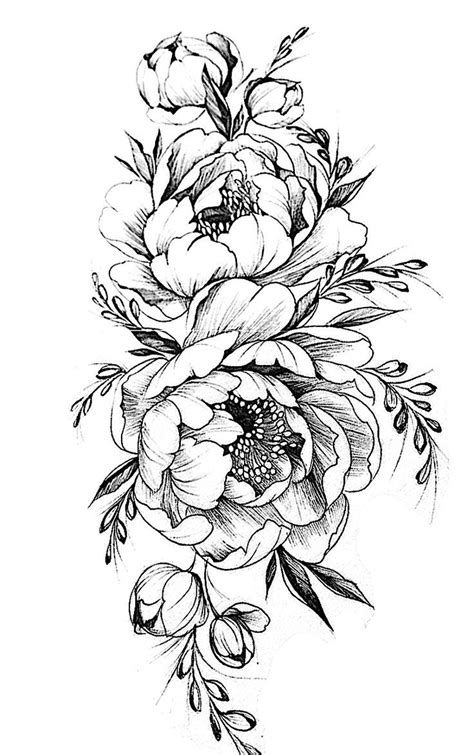 flower tattoos pinterest pattern flower drawing with colour best 25 flower