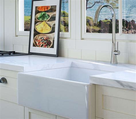 fireclay kitchen sinks fireclay sinks a 3 minute guide the kitchen sink handbook