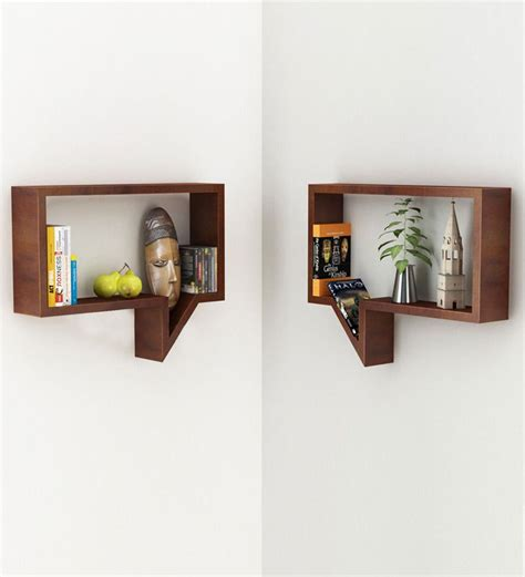 Wall Shelves Pepperfry by Quote Unquote Set Of 2 Wall Shelves At Rs 1799 Only At