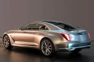 Hyundai G Hyundai Vision G Coupe Concept Previewed