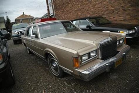 manual cars for sale 1989 lincoln town car engine control 1989 lincoln town car for sale carsforsale com