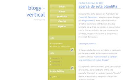 b templates vertical template btemplates