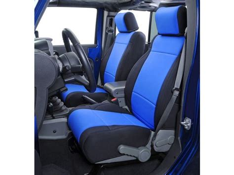 Waterproof Seat Covers For Jeep Wrangler Coverking Front Seat Covers With Free Rear Cover For 08 10