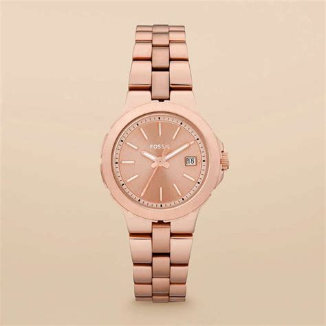 Fossil Es 3841 Rosegold 4 fossil gold funky ideas