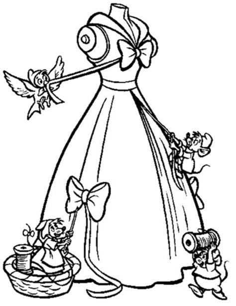 cinderella dress coloring pages 30 best cinderella images on pinterest coloring books