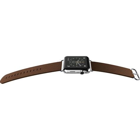 x doria band for apple 38 mm brown leather