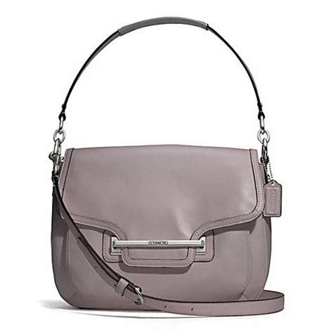 Coach Leigh Leather Flap Bag by Coach F27481 Coach Handhandbag
