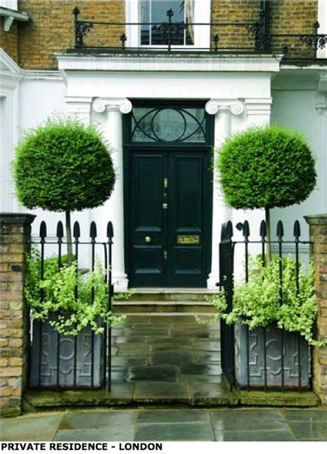 Front Door Trees Topiary Trees In Lead Pots Http Www Garden Antiques Prodenglish Html Welcome Home
