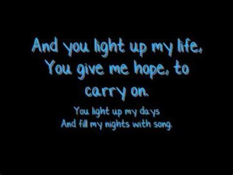you light up my life jls you light up my life with lyrics youtube