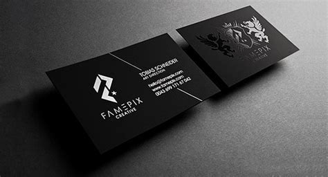Creative Business Cards Designs For Your Inspiration