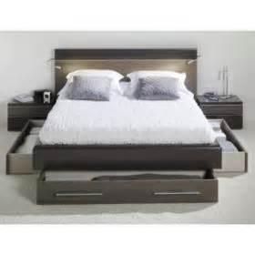 lit deux places avec rangement