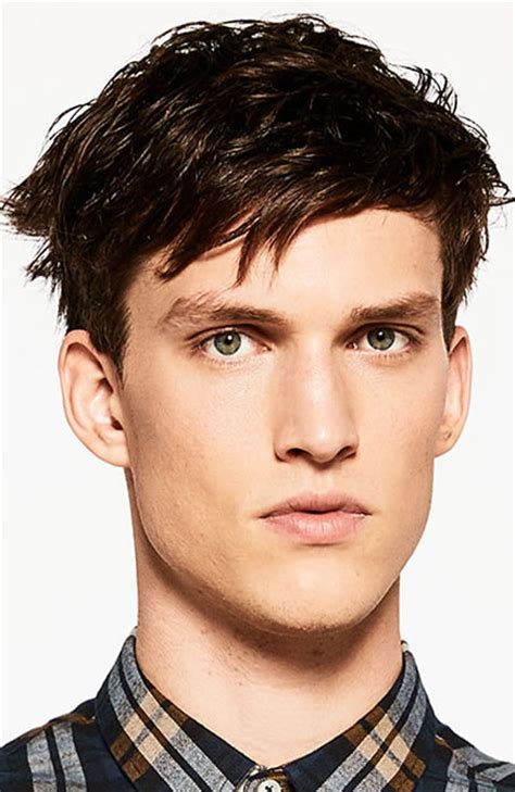 boys swept across fringe hairstyles 33 of the best men s fringe haircuts fashionbeans